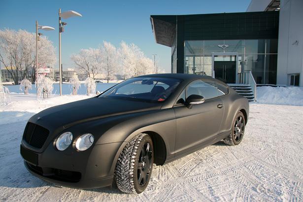 Black carbon Bentley - Пленка карбон