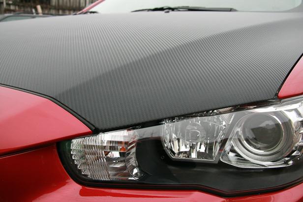 Mitsubishi - Пленка карбон